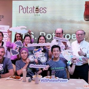 Potatoes USA Powers KL Tower Run Up
