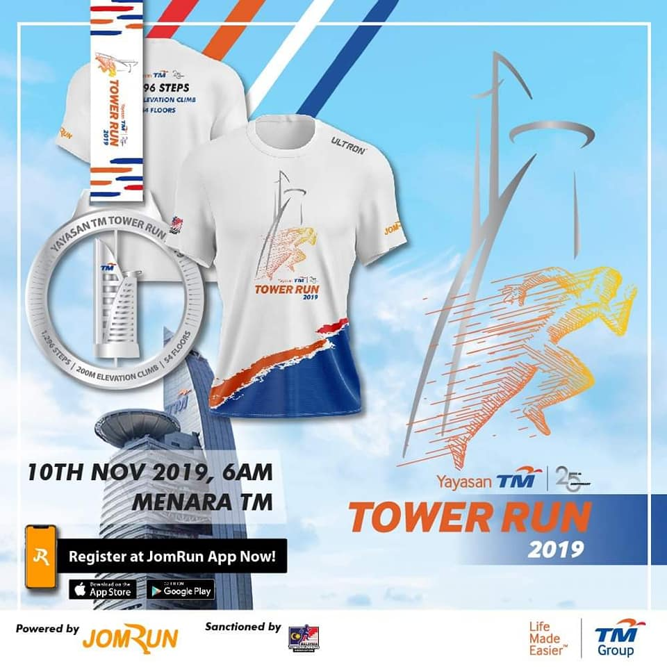 YAYASAN TM INTERNATIONAL TOWER RUN 2019