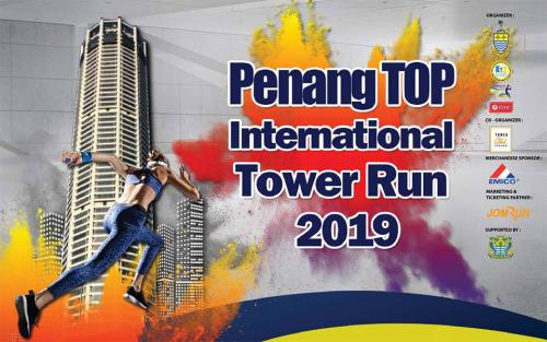 Penang TOP International Tower Run 2019
